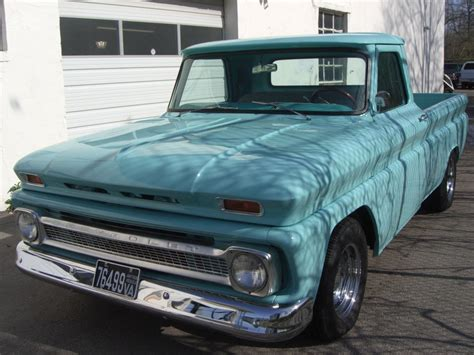 1966 chevrolet truck bill the car