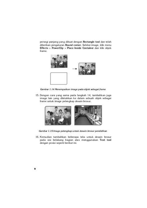 desain brosur corel draw gratis 20 desain brosur kreatif dengan corel draw x5