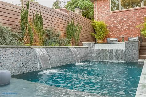inground pool fountains inground pool fountains awesome raised wall with custom