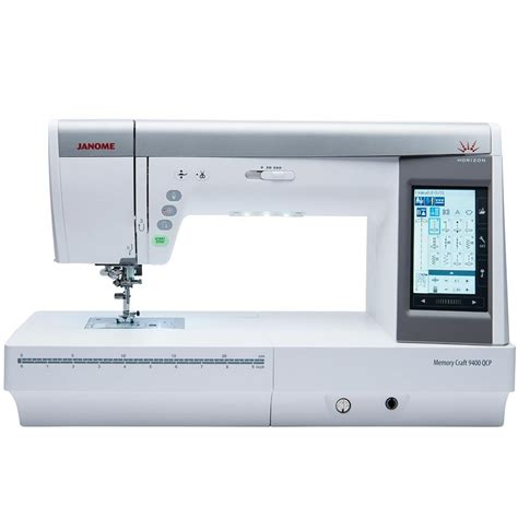 Quilting Sewing Machines Review by Janome Memory Craft 9400qcp Sewing Quilting Machine