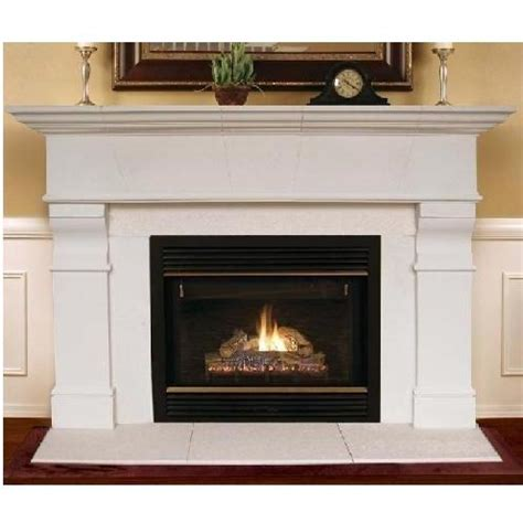 Gas Log Fireplace With Mantel Cambridge Collection Gas Log Roosevelt Fireplace Mantle