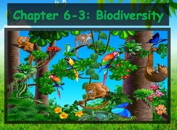 section 6 3 biodiversity biology human impacts 6 3 biodiversity powerpoint and