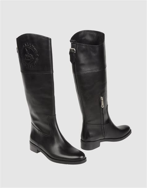bally boots bally boots in black lyst