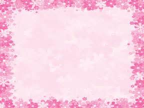 pink floral frames ppt backgrounds border amp frames pink templates ppt grounds