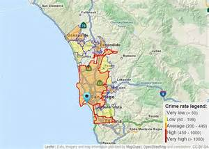 San Diego Crime Map by Cruise Ship Port Crime Crime Statistics In Cruise Ship