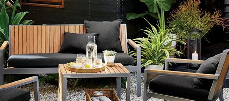 outdoor furniture  material crate  barrel