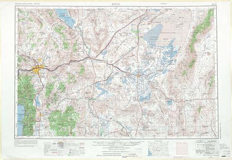 reno map reno topographic maps nv usgs topo 39118a1 at 1 250 000 scale