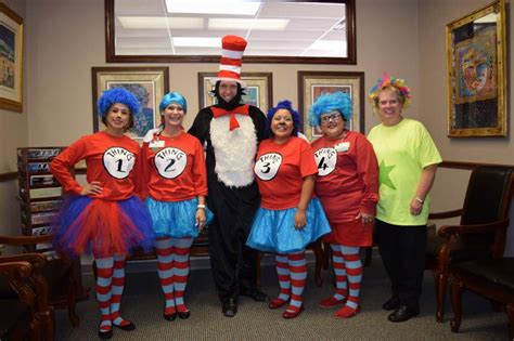 halloween themes for a medical office cat in the hat office staff plainview daily herald