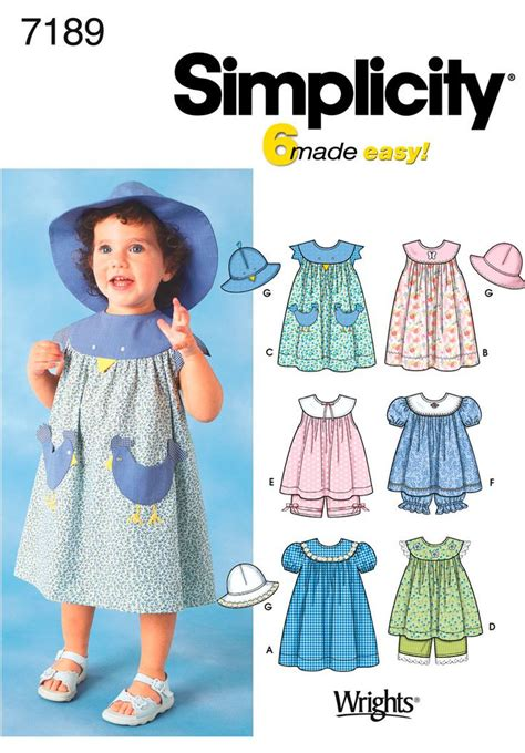 patterns sewing children s clothes 1000 images about favorite simplicity patterns for little