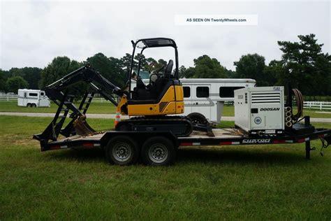 Emco Blox Vehicle Dump Truck 2013 custom haul trailer 18 w 2 dovetail 14000lb gvwr