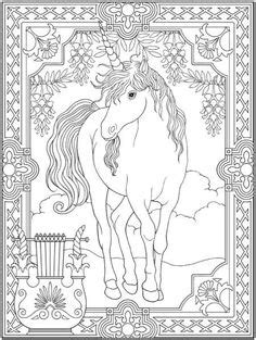 Coloring Pages for Adults Only | Unicorn Coloring Page by