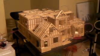 how to build a popsicle stick house 20 building popsicle stick house