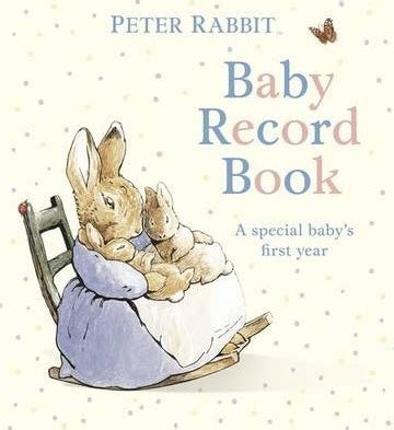 peter rabbit my first 0723267030 peter rabbit baby record book beatrix potter 9780723267256