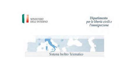 ministero interno login nuovo manuale inoltro istanze ministero interno