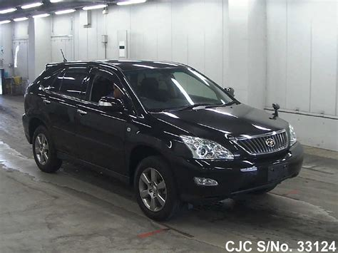 toyota harrier 2012 2012 toyota harrier black for sale stock no 33124
