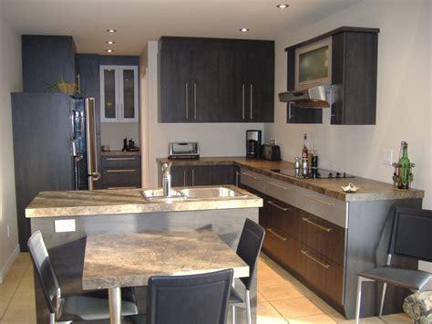 d馗o cr馘ence cuisine fabriquer un comptoir de cuisine en bois comptoirs de
