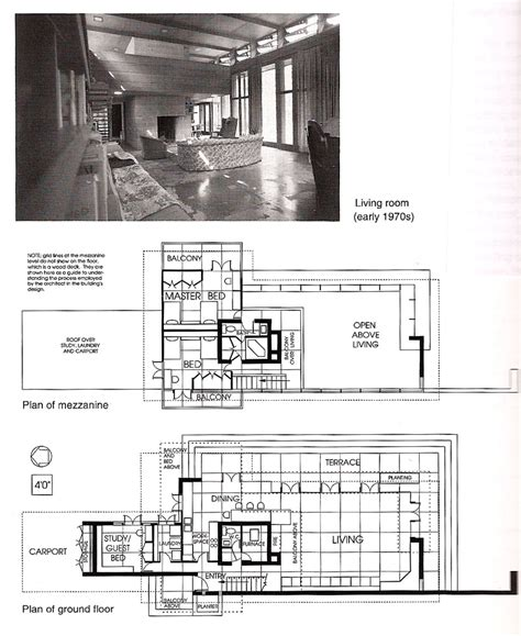 Frank Lloyd Wright Style Home Plans Architraveler