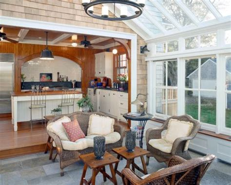 Historical Concepts Floor Plans by Sunroom Kitchen Houzz
