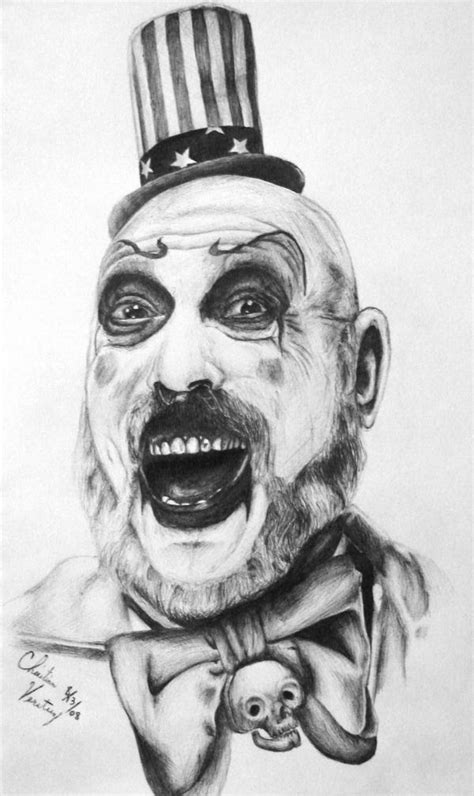 captain spaulding by godfatherchide on deviantart