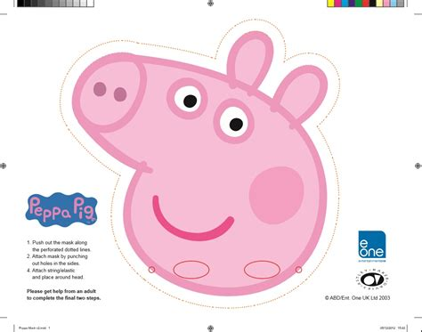 peppa pig template peppa pig template for cake to print free search results