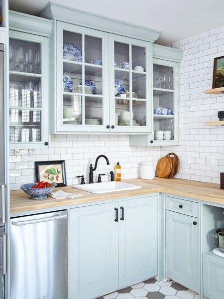 25  best ideas about Light blue kitchens on Pinterest
