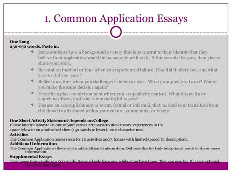 Common Application Essay Format by Writing Great College Application Essays That Pop