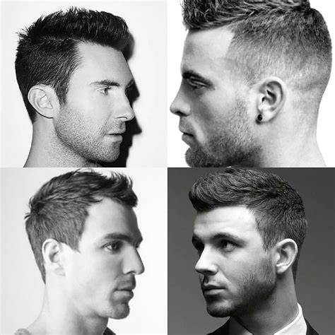 mens hair styles by hairline type the best hairstyles haircuts for men with receding hairline