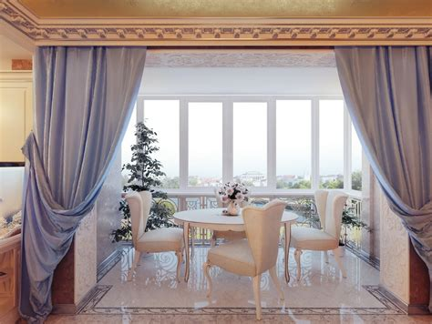 dining room curtain designs real regal living 12 palace inspired home inspirations freshome com