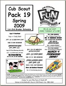 cub scout pack newsletter template halfeagle scouting blogs and news archived posts