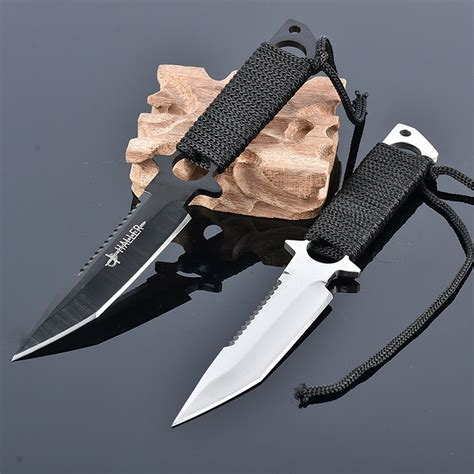 newest knives newest diving knife fixed blade knife 2 colors stainless