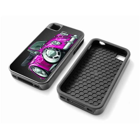 Vw Volkswagen Classic Iphone 55s Cover classic vw beetle convertible in lilac shock proof iphone 4 4s 5 5s cov ebay