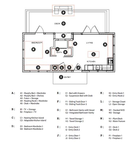 450 Square Feet by Tiny House Town Waterhaus Prefab Tiny Home 450 Sq Ft