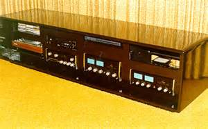Lacquer low profile stereo cabinet equipment mounted in front panel