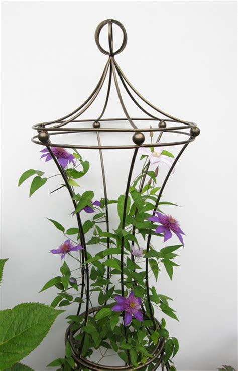 Decorative Plant Trellis Garden Trellis Balls Contemporary Outdoor Products