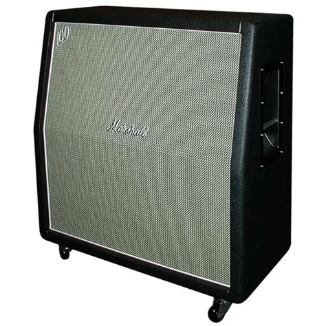 custom bass guitar speaker cabinets marshall m 1960ahw u handwired angled guitar speaker