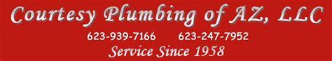 Courtesy Plumbing by Courtesy Plumbing Of Az Llc 623 939 7166