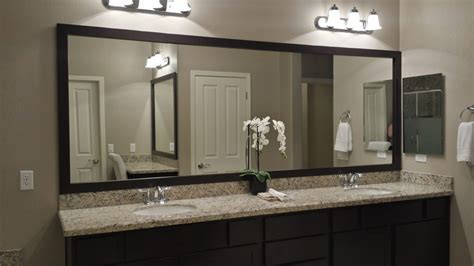 Before and After: Customer Bathroom in Las Vegas   Frame My Mirror