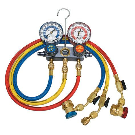 Manifold Gauges cps ma1234 pro set dual refrigerant manifold set cps