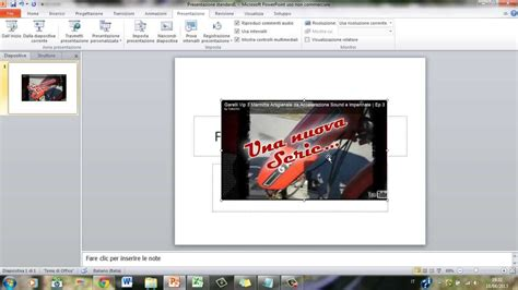 powerpoint tutorial youtube video come mettere video da youtube su microsoft excel e