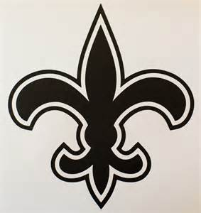 new orleans saints car decal geekcals new orleans saints decal design your space