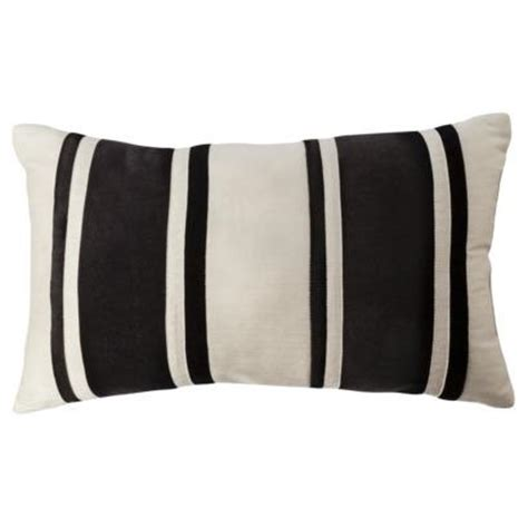 Bolster Pillows Target by Black And Striped Bolster I Target