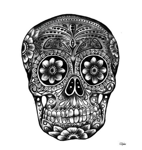 skull tattoos tumblr day of the dead skull on