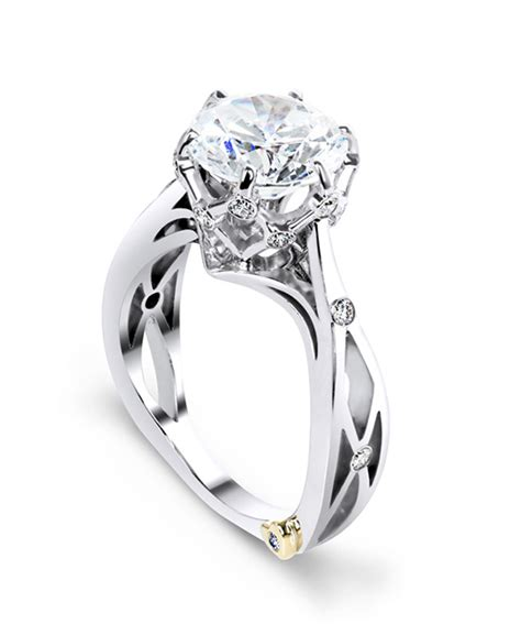 marks and engagement rings sacred contemporary engagement ring schneider design