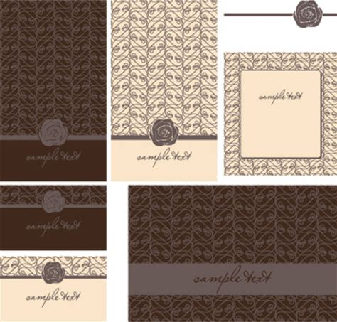 Wedding Card Design Cdr Format by Wedding Card Vector Free Vector 13 245 Free