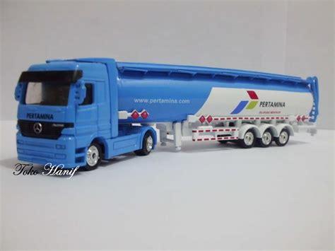 Jual Diecast Truck by Jual Diecast Miniatur Replika Truck Tanki Pertamina Blue