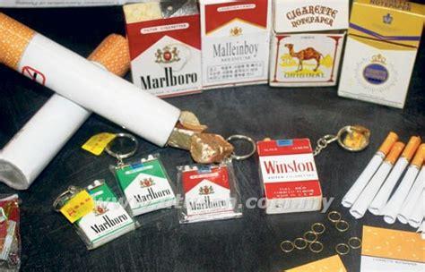 Tembakau Cap Jangkarbako Jangkar Kuning coklat dan mainan rokok untuk kanak kanak dijual secara berleluasa