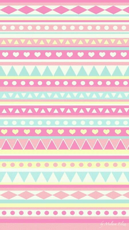 girly print wallpaper super cute girly blue pink yellow aztec prints wallpaper