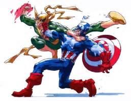 566 Iron 2610 Vs Captain America rob haynes comic artist the most popular comic by