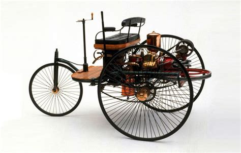 first car ever made in the world mercedes benz celebrates today 125 years since the first