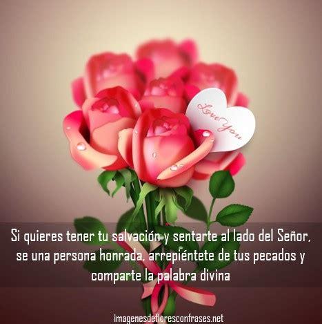 imagenes de rosas moradas con frases im 225 genes de flores con frases cristianas bonitas